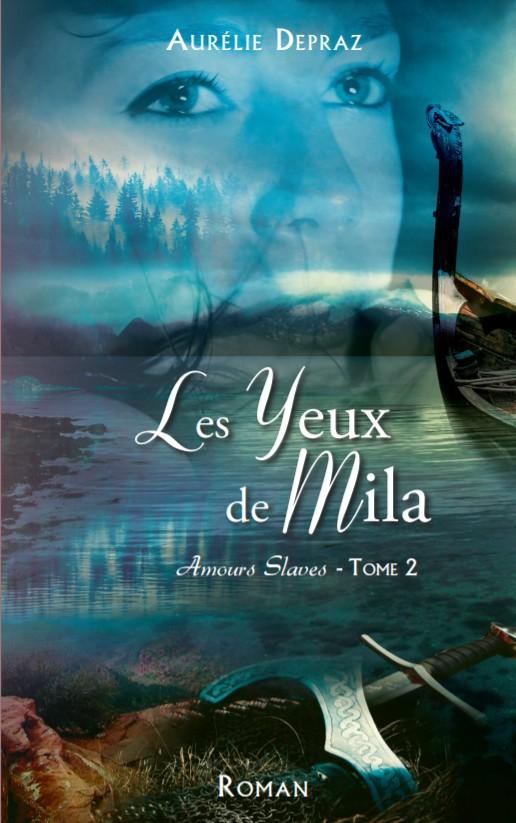 couverture roman Les Yeux de Mila